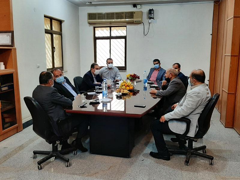 بازدید مدیرکل استاندارد از واحد تولیدی شیلنگ و لوله خوزستان